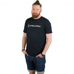 Volcom T-Shirt Line Euro schwarz