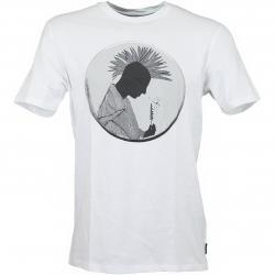 Volcom T-Shirt Mario Duplantier weiß
