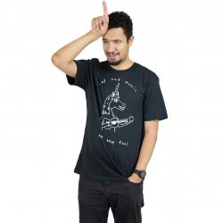 Volcom T-Shirt Not The Fool schwarz