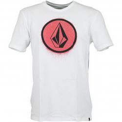 Volcom T-Shirt Spray Stone weiß