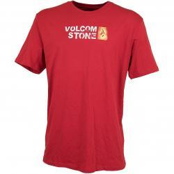 Volcom T-Shirt Stence rot