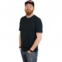 Volcom T-Shirt Stone Blanks schwarz