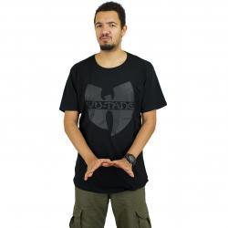 Wu-Wear T-Shirt Black Logo schwarz