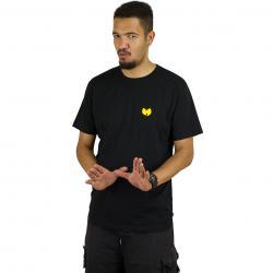 Wu-Wear T-Shirt Front-Back schwarz
