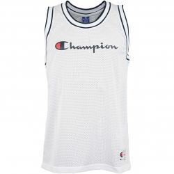 Champion Tanktop Logo weiß/dunkelblau