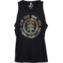 Element Tanktop Foundation Icon flint schwarz