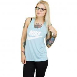 Nike Damen Tanktop Essential blau/weiß