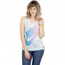 Nike Damen Tanktop Futura mint/blau