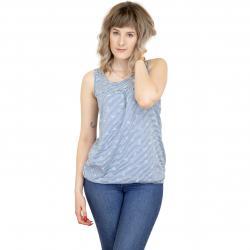 Ragwear Damen Tanktop Giselle Organic blau