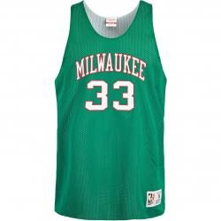 Mitchell & Ness NBA Milwaukee Bucks Kareem Abdul Jabbar Reversible Tank