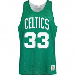 Mitchell & Ness NBA Larry Bird Boston Celtics Reversible Tank