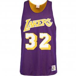 Mitchell & Ness NBA Magic Johnson L.A. Lakers Reversible Tank