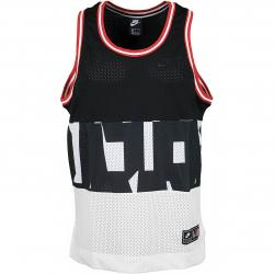 Nike Tanktop Air Mesh schwarz/weiß/rot