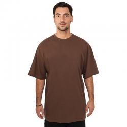 T-shirt Urban Classics Tall brown