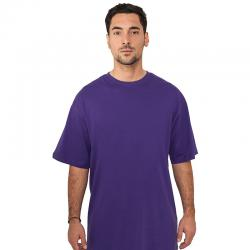 T-shirt Urban Classics Tall purple