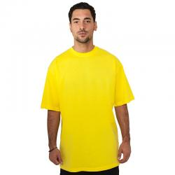 T-shirt Urban Classics Tall yellow