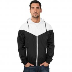 Jacke Urban Classics Arrow Windrunner Regular Fit black/white