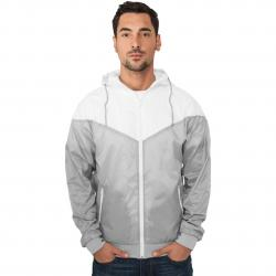 Jacke Urban Classics Arrow Windrunner Regular Fit grey/white