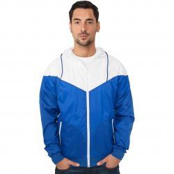 Jacke Urban Classics Arrow Windrunner Regular Fit royal/white