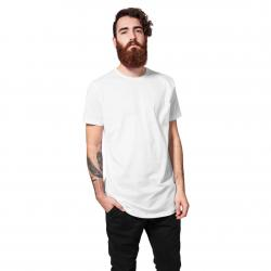 Urban Classics T-Shirt Shaped Long weiß