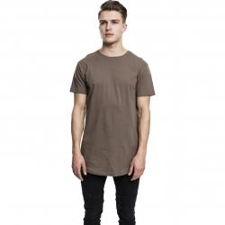 Urban Classics T-Shirt Shaped Long armee grün