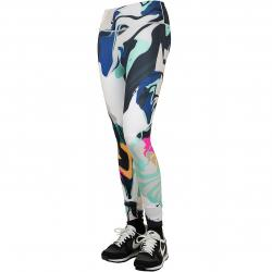 Nike Tights One Luxe 7/8 tropical mehrfarbig