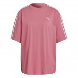 Adidas Oversized Damen T-Shirt rosa
