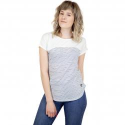 Alife & Kickin Damen T-Shirt Claire B weiß