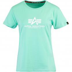 Alpha Industries Basic Damen Shirt mint