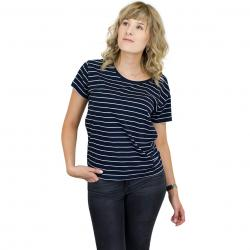 Cleptomanicx Damen T-Shirt Harbour dark navy