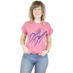 Dedicated Damen T-Shirt Dirty Dancing Logo rose