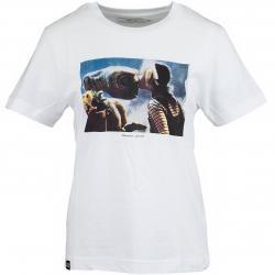Dedicated Damen T-Shirt ET Kiss weiß