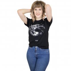 Dedicated Damen T-Shirt Love Your Mother schwarz