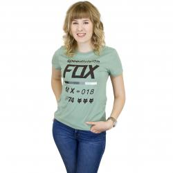 Fox Damen T-Shirt Draftr sage