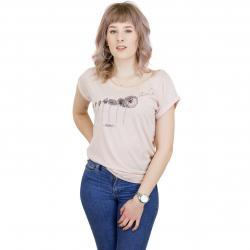 Iriedaily Damen T-Shirt Evolution rose