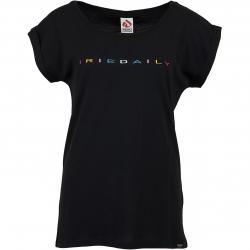 Iriedaily Damen T-Shirt Iriecolor schwarz