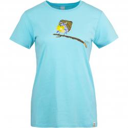 Iriedaily Damen Top It Birdy blau