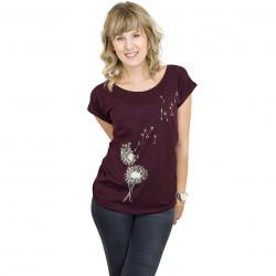 Iriedaily Damen T-Shirt Pusteblume wine