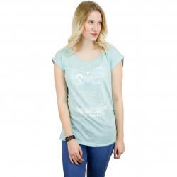 Iriedaily Damen T-Shirt Skateowl 2 mint
