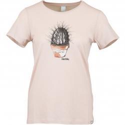 Iriedaily Damen T-Shirt Spikey rosa