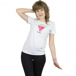 Iriedaily Damen T-Shirt Watermelon weiß