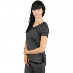 Khujo Damen T-Shirt Lorelei schwarz