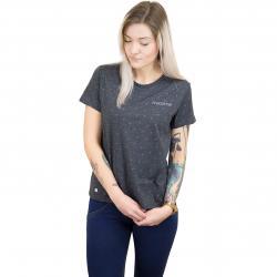 Mazine Damen T-Shirt Onslow schwarz/pink
