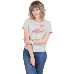 Mazine Damen T-Shirt Xenia hellgrau