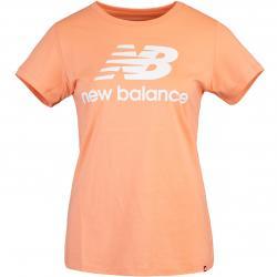 New Balance Essentials Stacked Logo Women T-Shirt pink