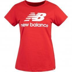 New Balance Essentials Stacked Logo Women T-Shirt rot