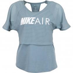 Nike Damen Laufshirt Air GX grau/weiß