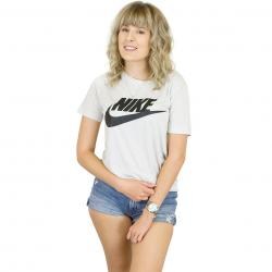 Nike Damen T-Shirt Essential weiß/schwarz