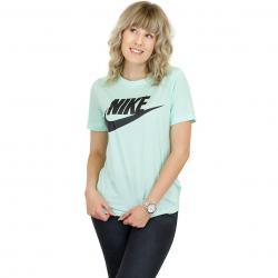 Nike Damen T-Shirt Essential mint/schwarz