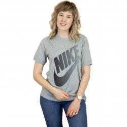 Nike Damen T-Shirt Futura grau/schwarz